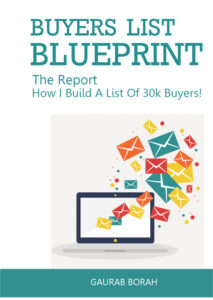 Buyers List Blueprint