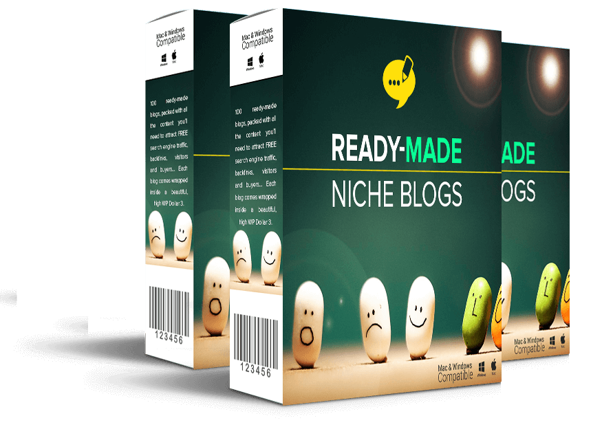 100 readymade niche blogs