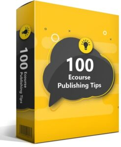 ecourse publishing tips