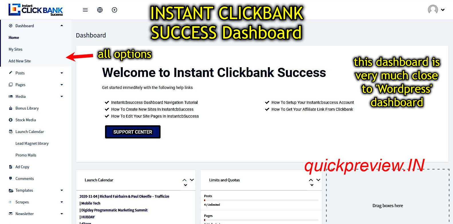 instant clickbank success inside 1