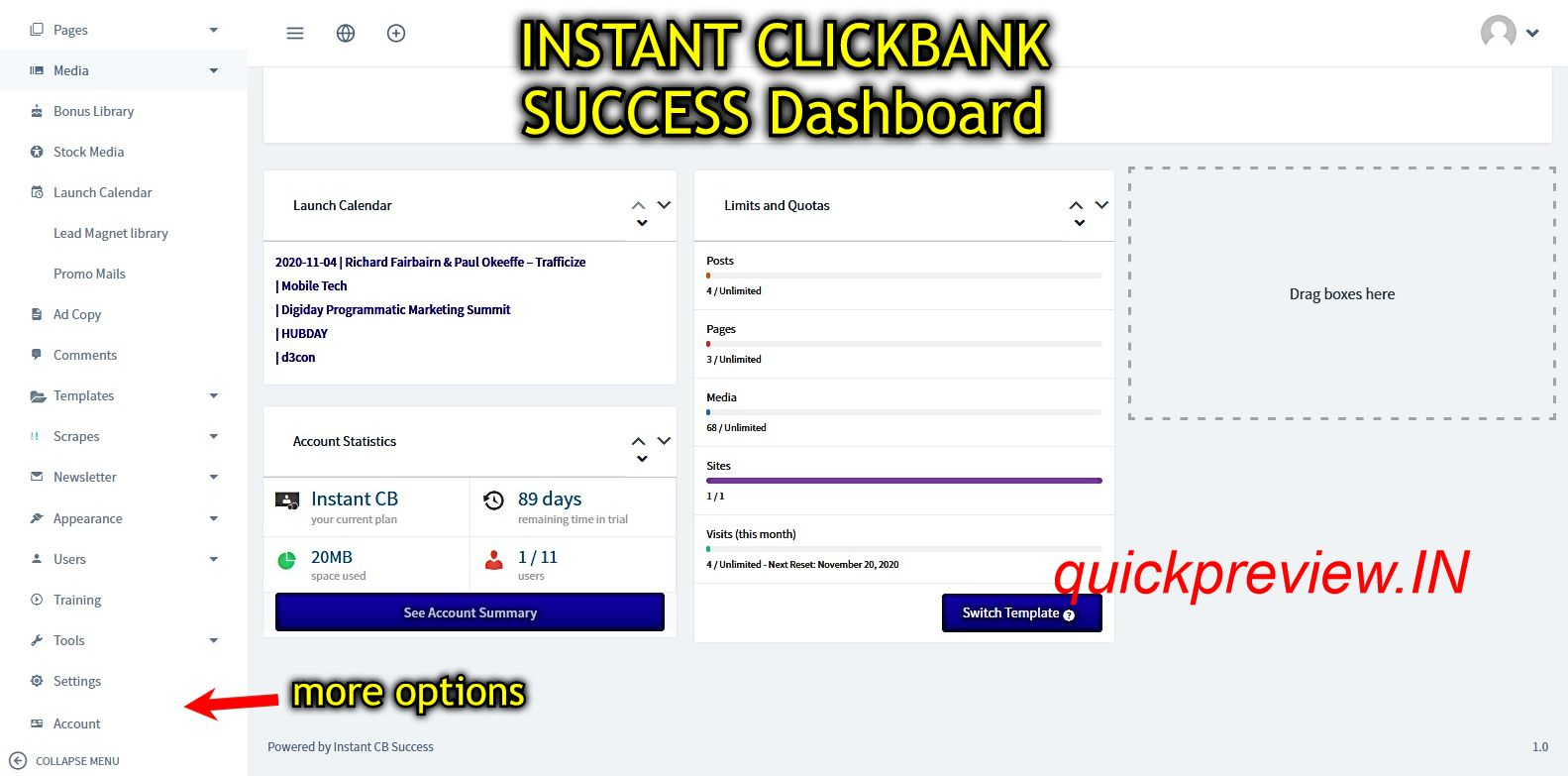 instant clickbank success inside 2