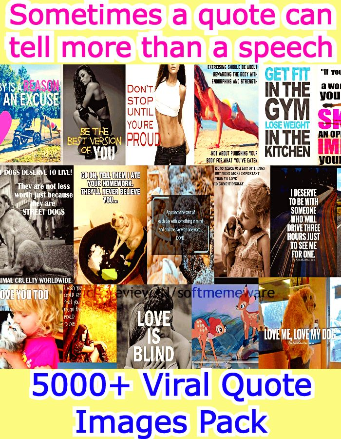 5000+ Viral Quote Images Pack