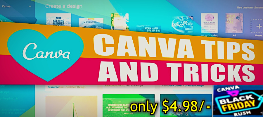 canva black friday rush review