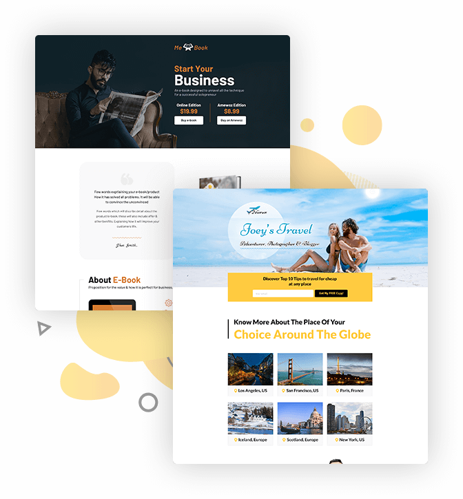 maxfunnels template 1