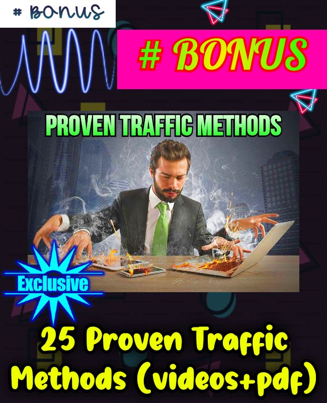 25 proven traffic methods