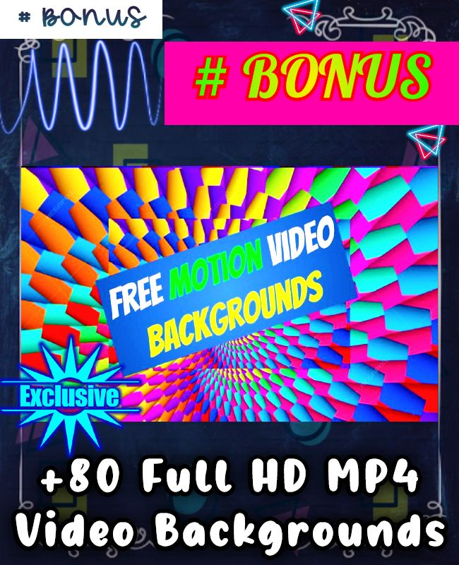 80 Full HD MP4 Video Backgrounds
