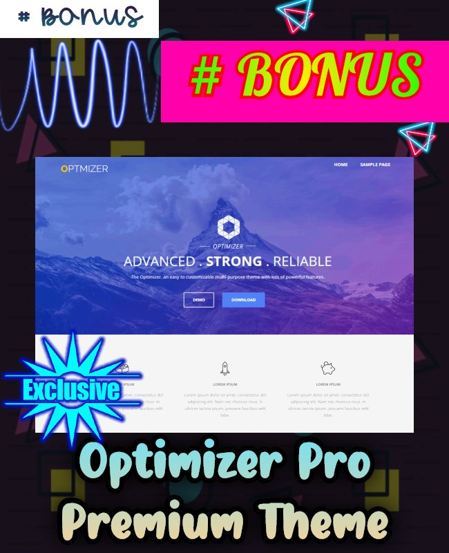 optimizer pro theme