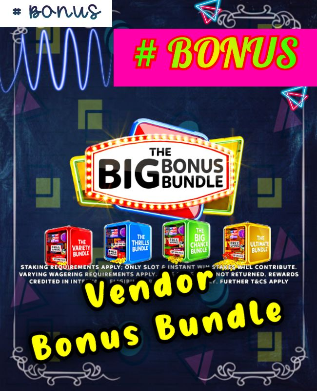 vendor bonus bundle