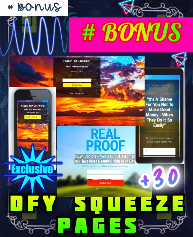 dfy squeeze page