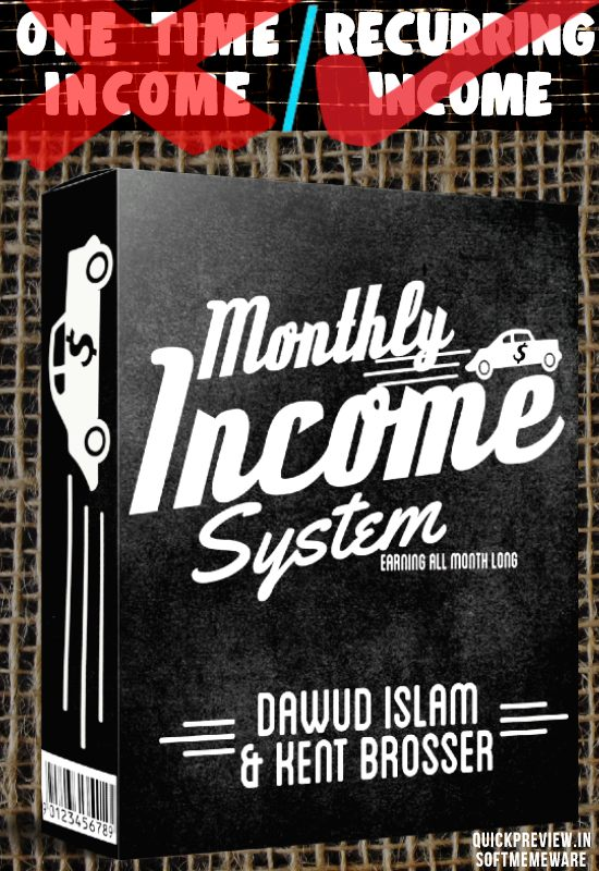 Monthly Income System review