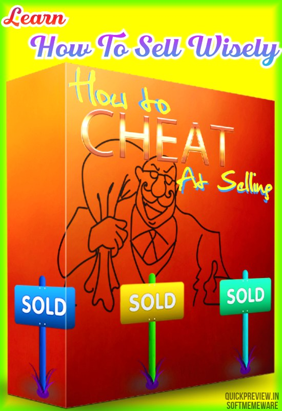 how to cheat at selling review