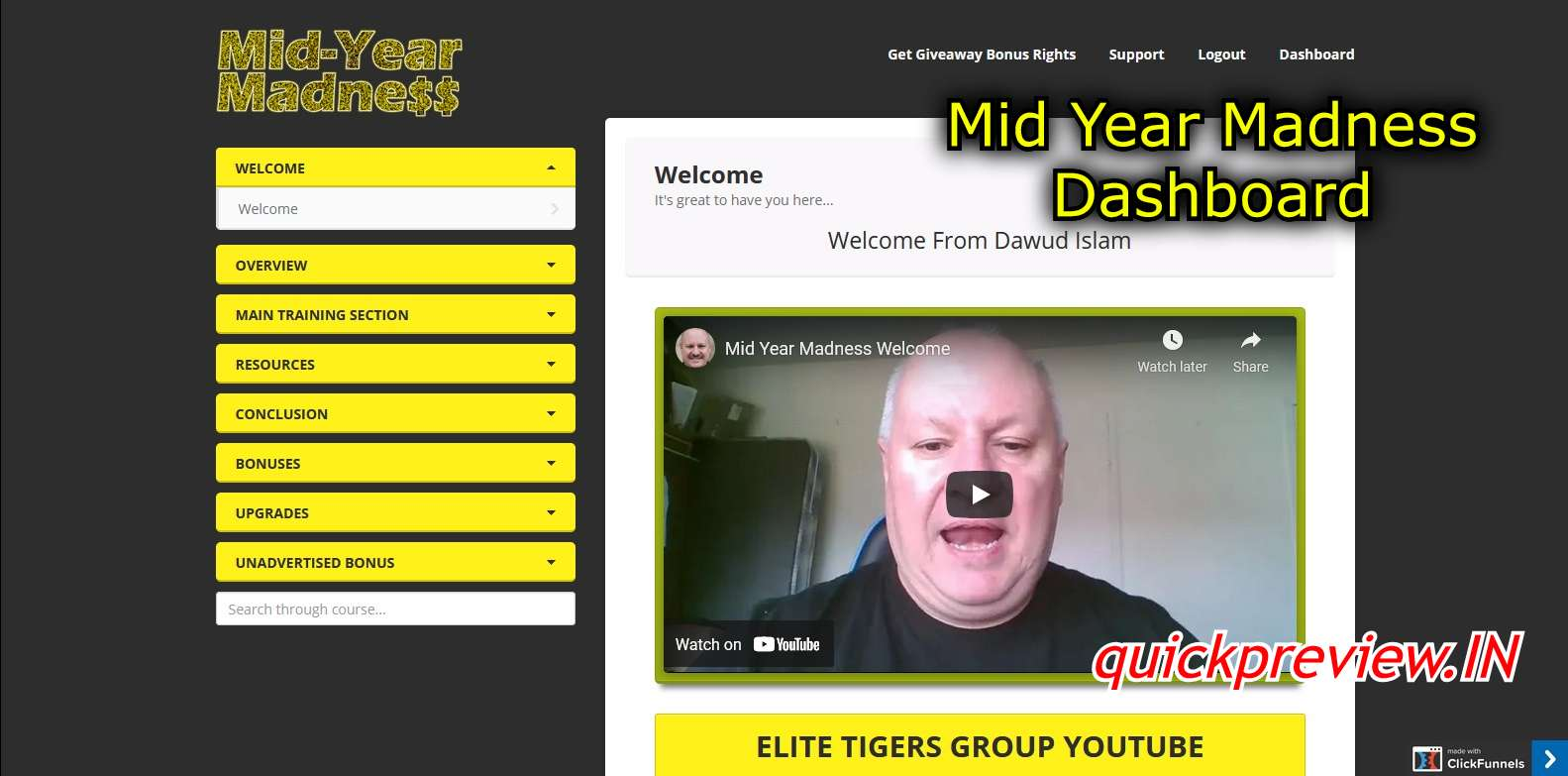 mid year madness dashboard