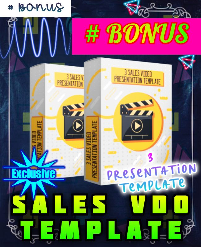 3 sales video template